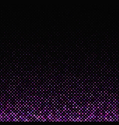 Purple geometric dot pattern background - design vector