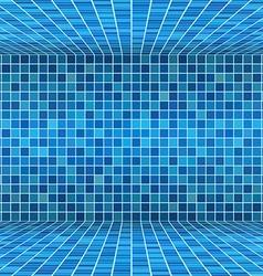 swimming pool ceramic vector image