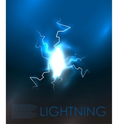 abstract lighning background vector image