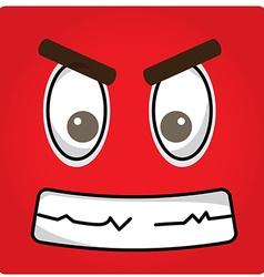 Facial Expression vector image vector image