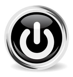 Power button icon vector image