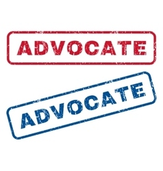 Advocate Rubber Stamps vector