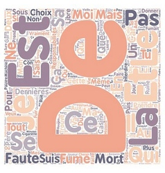 Avis d un etudiant text background wordcloud vector image