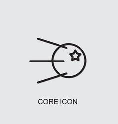 Core icon vector
