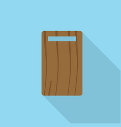 cutting board icon set of great flat icons with vector image