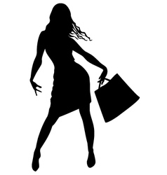 Fashion shopping beauty vector