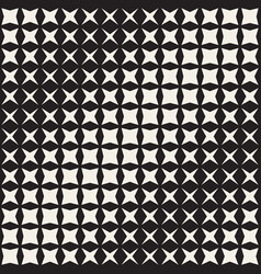 Geometric seamless star shapes pattern halftone vector