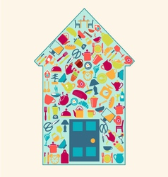 home-related-icons-2 vector image