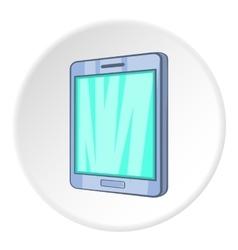 Ipad icon isometric style vector