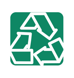 Label reduce recycle and reuse environment symbol vector
