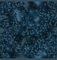 military camouflage seamless pattern navy marine vector image