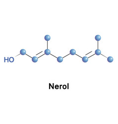 Nerol is a monoterpene vector