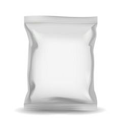 snack bag packaging vector image