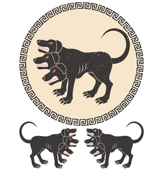 Cerberus Stylized vector image
