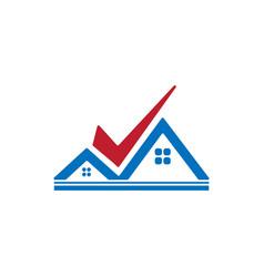 architect home construction creative logo vector image