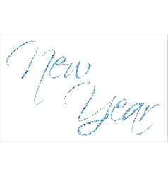 Backgrond new year vector