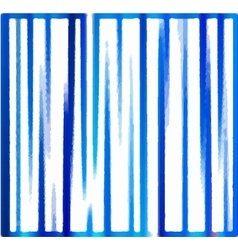 Background of blue vertical stripes vector