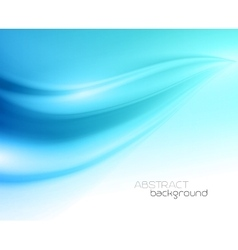 Beautiful Blue Satin Drapery Background vector image