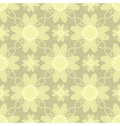 Beige flowers vector