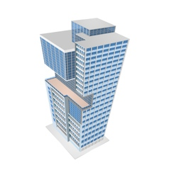 Building model colors scene vector