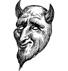 drama mask vector image