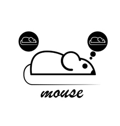 Manual of laboratory mouse vector image