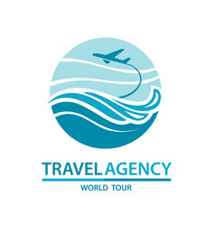 Travel logo design vector