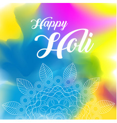 Happy holi greeting background concept vector