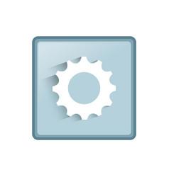mobile app icon vector image vector image