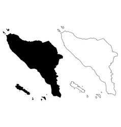 Aceh map vector
