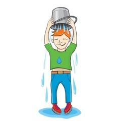 ALS Ice Bucket Challenge vector