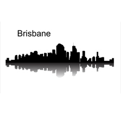 Brisbane Queensland Australia vector image