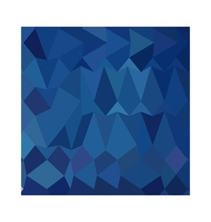 Cobalt Blue Abstract Low Polygon Background vector