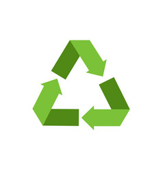 eco-friendly recycle symbol vector image