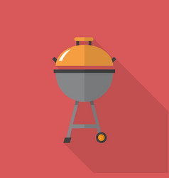Meat grills icon set of great flat icons with vector
