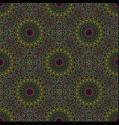 Seamless pastel bohemian geometrical mandala vector