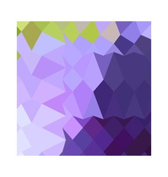 Cyber grape purple abstract low polygon background vector