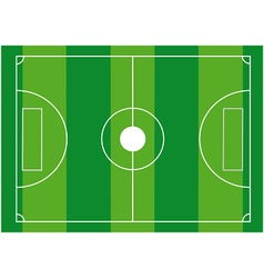 Football ground vector image vector image