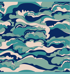 pattern with the image of the cream texture of vector image