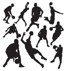 Basketball vs vector image vector image