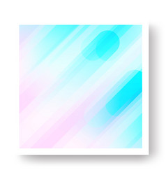 Colorful cover with geometric background vector