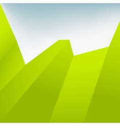 Green Abstract Background EPS10 vector image