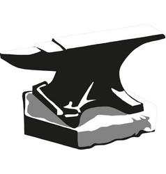 anvil anvil on white vector image