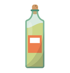 Bottle juice fresh healhty vector