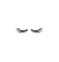 eye lashes icon lashes black vector image
