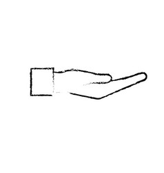 Figure hand gesture with fingers icon design vector