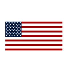 flag usa american flag vector image