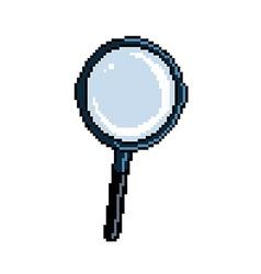 Pixel magnifier vector