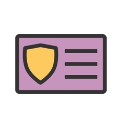 Protected Card vector