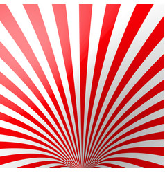 red volumetric striped background cone red and vector image